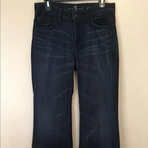 7 For All Mankind *Ginger* Wide Leg Jeans
